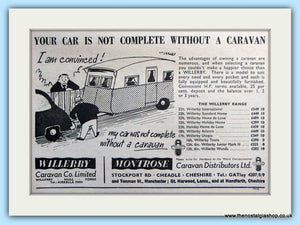 Willerby Montrose Caravans 1955 Original Advert (ref AD5061)