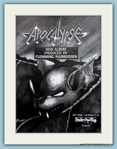 Apocalypse Produced By Flemming Rasmussen 1988 Original Advert (ref AD3074)