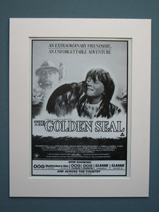 The Golden Seal 1984 Original advert (ref AD549)