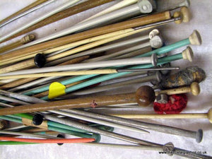 Knitting Needles, large mix. (ref nos029b)