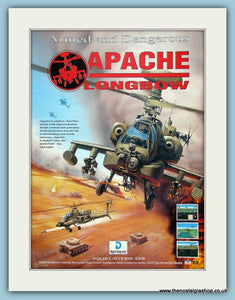 Apache Longbow Computer Game Original Advert 1995 (ref AD3980)