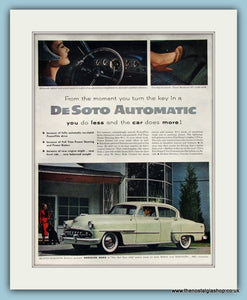 DeSoto Automatic Original Advert 1959 (ref AD8222)
