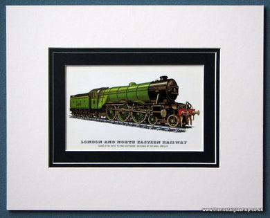 London And North Eastern Rly 'Flying Scotsman' Mounted Print (ref SP73)