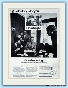 Inter-City Travel Original Advert 1973 (ref AD6536)