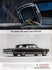 Ford Mercury Monterey. Original Advert 1963 (ref AD4040)