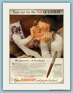 Eversharp Pen Original Advert 1944 (ref AD8283)