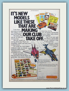 Matchbox Models Original Advert 1981 (ref AD6442)