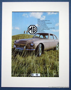 MGC 3 Litre. Original advert 1968 (ref AD1351)
