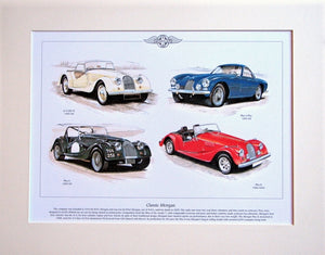 Morgan classics  Mounted Print