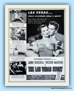 The Las Vegas Story. Original Advert 1952 (ref AD8003)