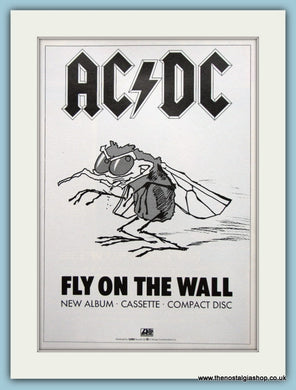 AC DC Fly On The Wall 1985 Original Advert (ref AD3107)