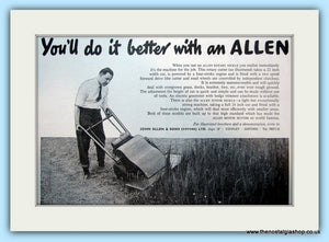 Allen Mowers. Original Advert 1961 (ref AD4639)