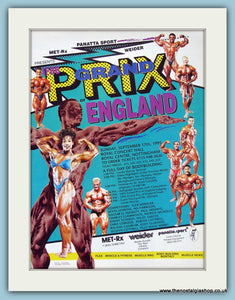Grand Prix Of England Bodybuilding Original Advert 1995 (ref AD3946)