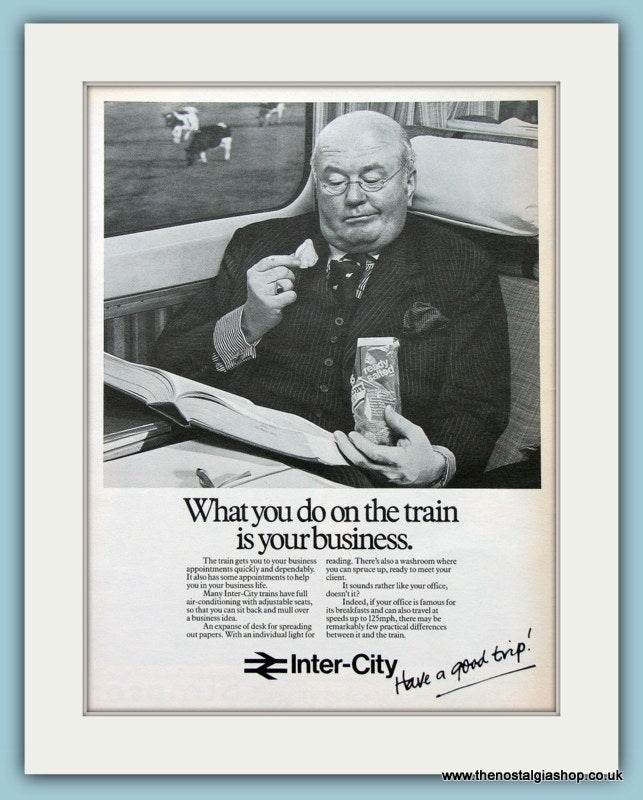 Inter-City Have A Good Trip! Original Advert 1979 (ref AD2283)
