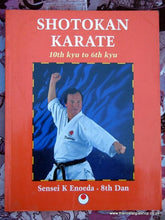 Load image into Gallery viewer, Shotokan Karate. 10th Kyu to 6th Kyu. Book 1996 (ref B124)