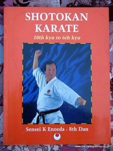 Shotokan Karate. 10th Kyu to 6th Kyu. Book 1996 (ref B124)