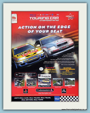 Touring Car Championship TOCA Original Advert 1998 (ref AD4021)
