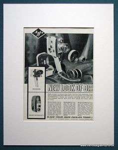 Agfa 8mm Movexoom & Movex Auto II. Original advert 1963 (ref AD1051)