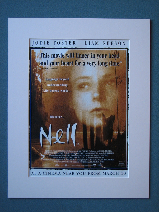 Nell 1995 Original advert (ref AD535)