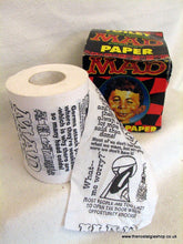 Load image into Gallery viewer, Mad Toilet Paper. 1996 (ref Nos104)