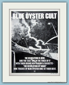 Blue Oyster Cult Original Music Advert  1983 (ref AD3398)