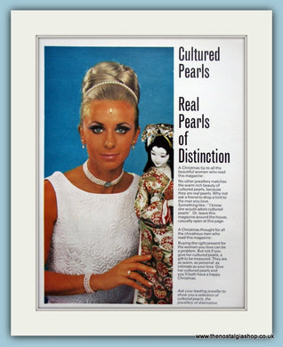 Cultured Pearls Original Advert 1970 (ref AD6248)