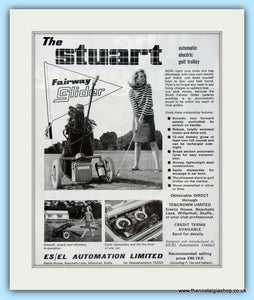 Stuart Fairway Glider. Original Advert 1968 (ref AD4967)