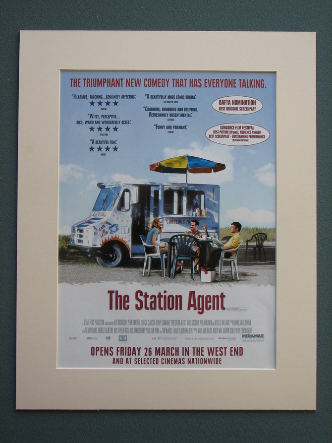 The Station Agent 2004 Original advert (ref AD696)
