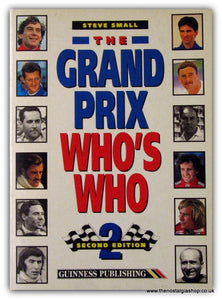 The Grand Prix Who's Who 2nd Edition. (ref B108)