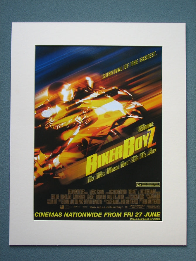 Biker Boyz 2003 Original advert (ref AD780)