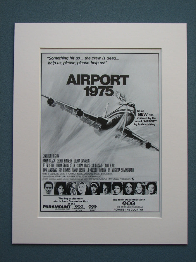 Airport 1975 Original advert (ref AD579)
