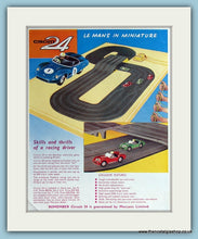 Load image into Gallery viewer, Circuit 24 Race Game. 2 x 1962 Original Adverts (ref AD2818)