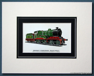 Great Central Railway 'Butler-Henderson' Mounted Print (ref SP74)