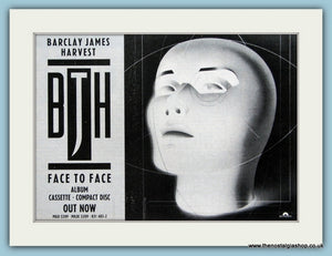 Barclay James Harvest Face To Face Original Music Advert 1987 (ref AD3434)