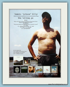 "Bonnie ""Prince"" Billy The Letting Go Original Music Advert 2007 (ref AD3420)"