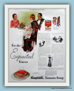 Campbells Tomato Soup. Original Advert 1935 (ref AD8164)