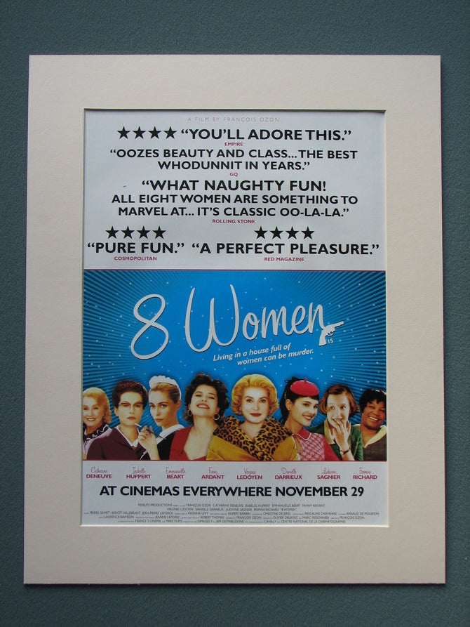 8 Women 2003 Original advert (ref AD791)