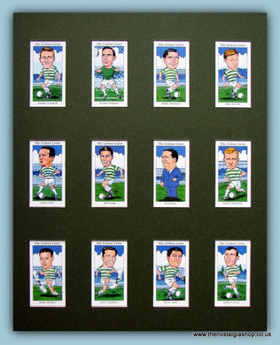 Celtic, The Lisbon Lions. Football Card Set.