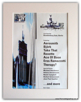 1st European Music Awards 1994 Advert (ref AD1788)