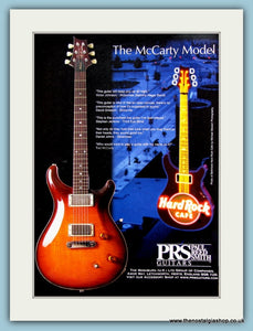 PRS Guitars. Original Advert 1999 (ref AD2356)