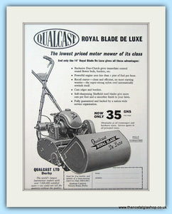 Qualcast Royal Blade De Luxe. Original Advert 1961 (ref AD4648)