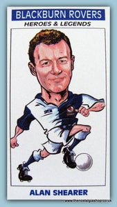 Blackburn Rovers Heroes and Legends Football Card Set