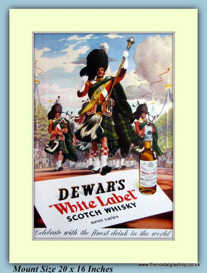 Dewar's Scotch Whisky Original Advert 1953 (ref AD9411)