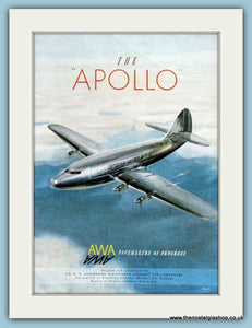 Apollo Aircraft. Original Advert 1949 (ref AD4246)