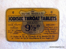 Load image into Gallery viewer, Iodised Throat Tablets. Vintage Tin. (ref nos031)