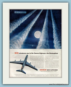 Douglas DC-8 Jetliner Original Advert 1958 (ref AD8248)