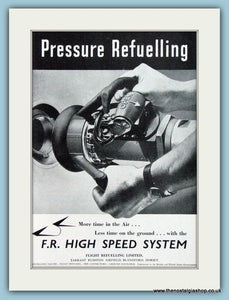F.R. High Speed System Refuelling Original Advert 1952 (ref AD4275)