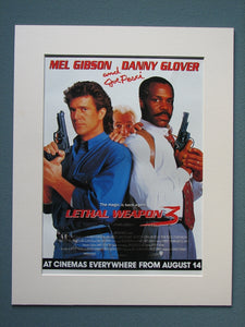 Lethal Weapon 3 Original Advert 1992 (ref AD775)