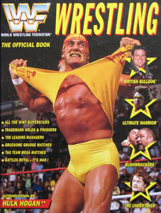 WWF Wrestling The official book 1992 (ref b45)