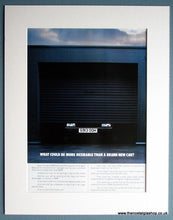 Load image into Gallery viewer, BMW Classic Double Mounted Original Advert 1989 (ref AD1653)